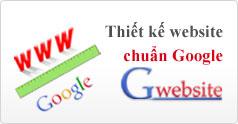 Dịch vụ thiết kế website chuẩn Google